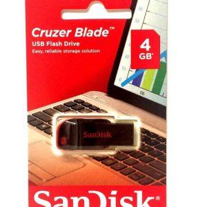 זיכרון נייד SanDisk 4GB USB