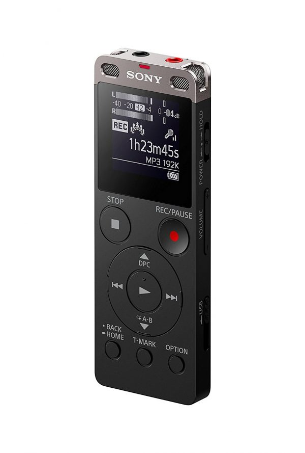 טייפ מנהלים סוני Sony ICD-UX560 Stereo Digital Voice Recorder