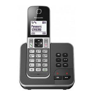 טלפון אלחוטי עם משיבון פנסוניק בעברית