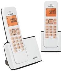 טלפון אלחוטי עם שלוחה בעברית VTech FS6515A-2