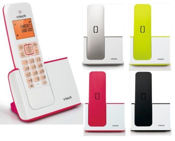 טלפון אלחוטי עם תפריט בעברית VTech FS6515A