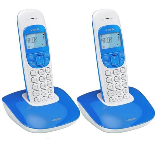 טלפון אלחוטי עם 2 שלוחות עם שיחה מזוהה VTech VT1301-2