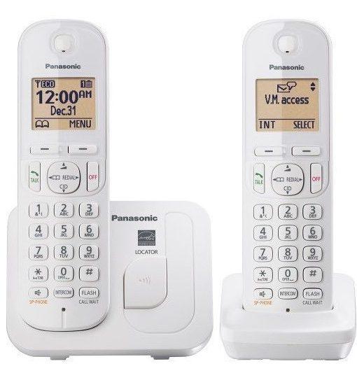מאוד טלפון אלחוטי פנסוניק טווח קליטה גדול Panasonic KX-TGC212 LV-17