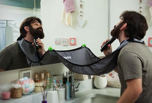 סינר גילוח לאיסוף שערות