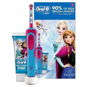 מברשת שיניים חשמלית לילדים oral b