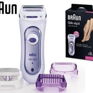 מכונת גילוח לנשים נטען בראון BRAUN