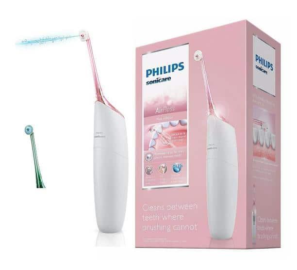 פנטסטי סילון מכשיר ניקוי שיניים עם לחץ מים PHILIPS HX8222 מומלץ FF-12
