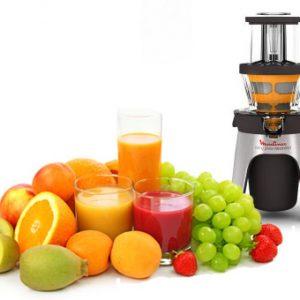 מסחטת פירות קשים איטית מולינקס moulinex ZU5008