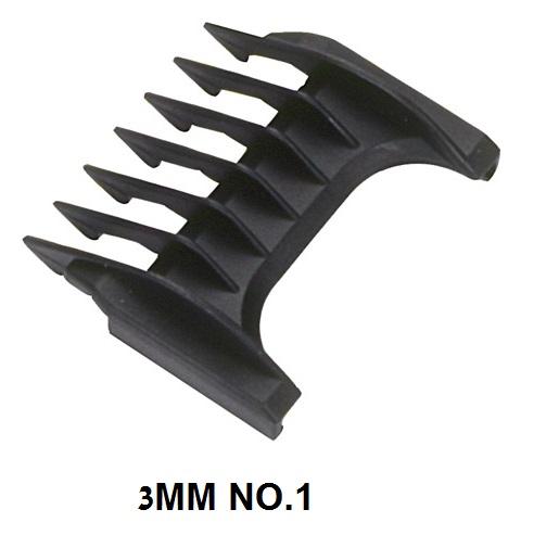 מסרק מספר 3MM NO.1 למכונת תספורת מוזר MOSER
