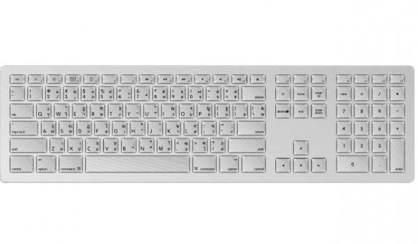 מקלדת אפל עברית Apple Keyboard with numeric keypad – Hebrew