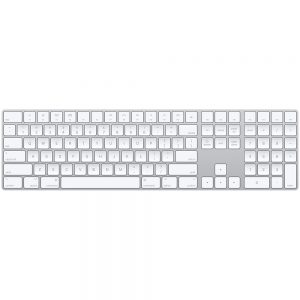 מקלדת אפל עברית Apple Keyboard with numeric keypad – Hebrew