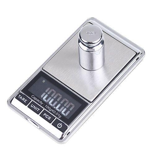 משקל דיגיטלי איכותי דיוק 0.01 עד 500 גרם