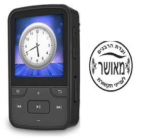 נגן מוזיק MP3 כשר למהדרין SAMVIX GLASBA 64GB