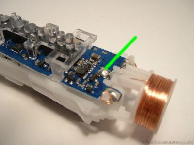 החלפת סוללה למברשת שיניים חשמלית אורל בי Oral-B