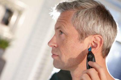 קוצץ שיערות  של אף ואוזן פיליפס דגם חדש PHILIPS NT3000