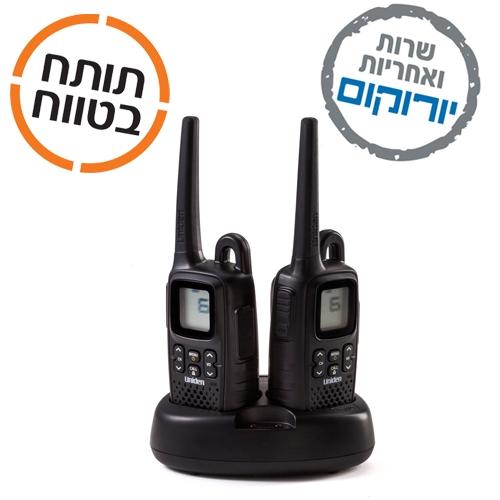 מדהים מכשיר קשר |מכשיר קשר יונידנן Uniden PMR11882CK | ווקי טוקי מקצועי MA-46