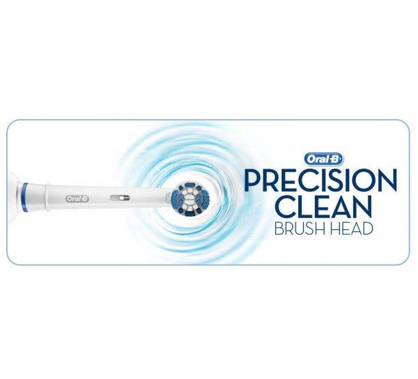 ראש מברשת שיניים לניקוי יסודי Oral-B precision clean