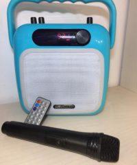 רדיו נגן קריוקי לילדים עם רדיו ו USB דגם CH380
