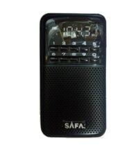 רדיו טרנזיסטור דיגיטלי נטען נייד
