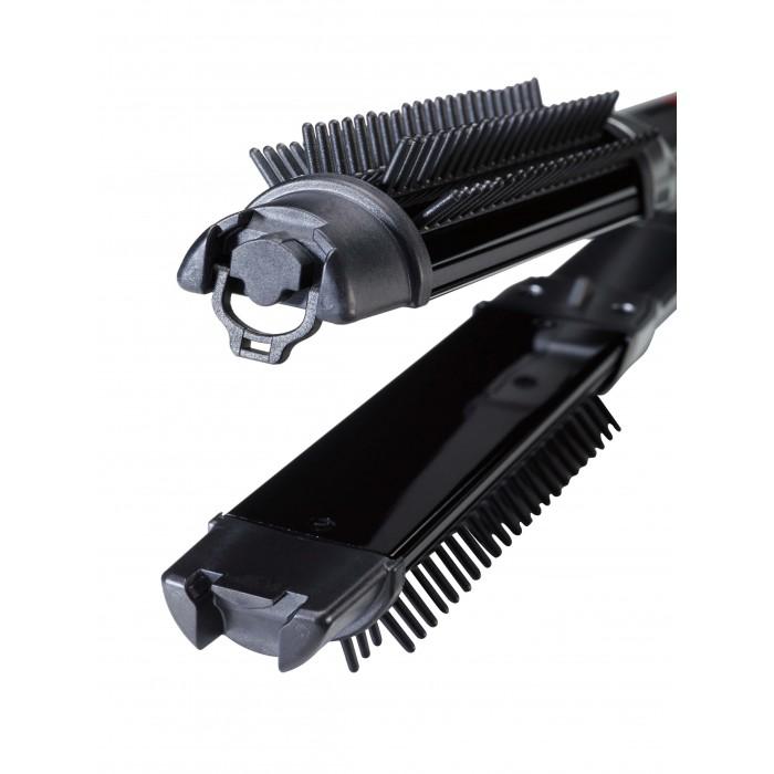 מחליק שיער עם מברשת בייביליס פרו BaByliss PRO