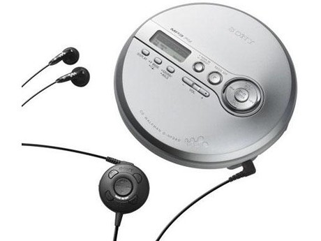 דיסקמן רדיו סוני SONY D-NF340