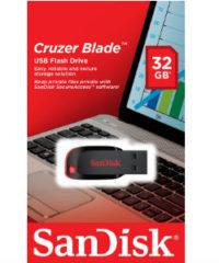 דיסק און קי SanDisk Cruzer Blade 32GB סנדיסק