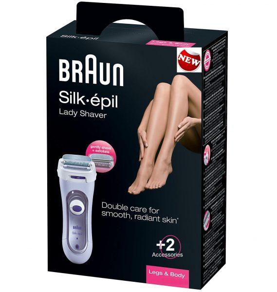 מכונת גילוח לנשים בראון BRAUN