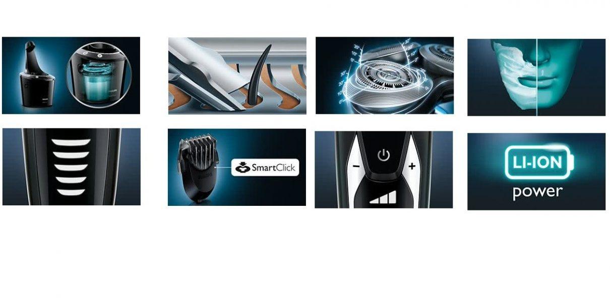 מכונת גילוח פיליפס החדשה PHILIPS S9511