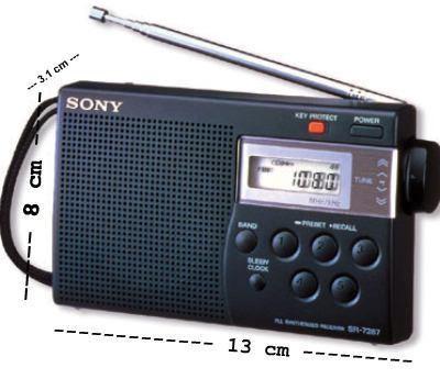 רדיו טרנזיסטור דיגיטלי סוני  SONY