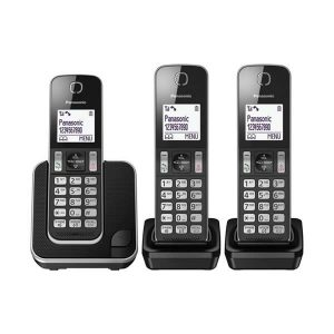 טלפון אלחוטי עם שתי שלוחות Panasonic פנסוניק KXTGD313