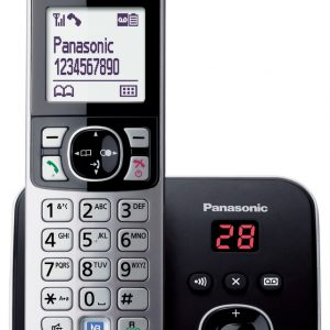 טלפון אלחוטי פנסוניק עם משיבון דגם PANASONIC KX-TG6821