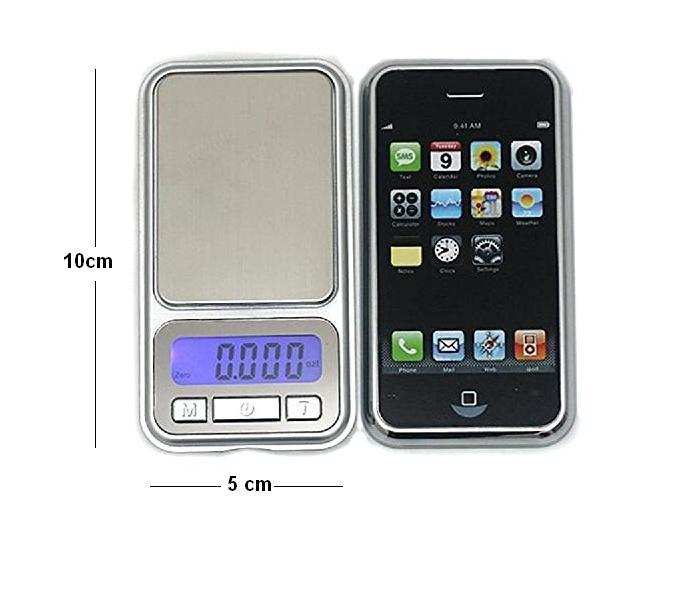 הוראות חדשות משקל דיגיטלי גרמים דיוק 0.01 עד 200 גרם דגם iPhone | משקל גרמים MP-95