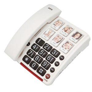 טלפון למבוגרים כבדי שמיעה וראיה