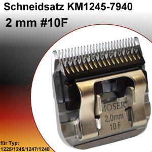 סכין למכונת תספורת מוזר MOSER 2MM 10F 1245