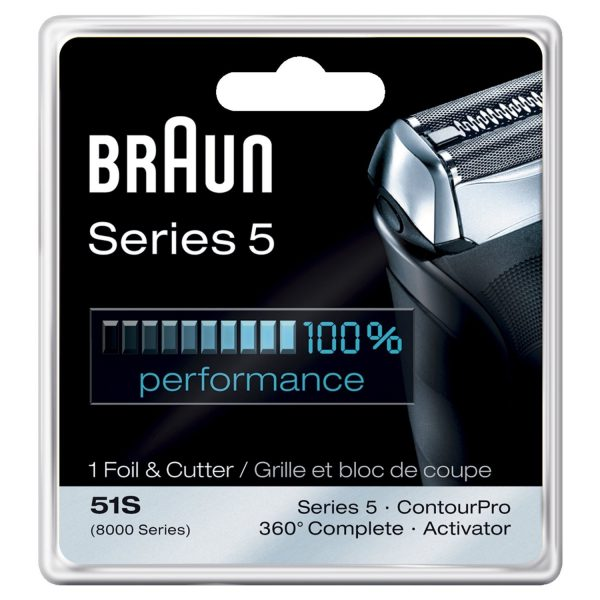 רשת וסכין למכונת גילוח Braun סדרה 5000