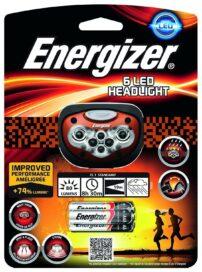 פנס ראש מקצועי Energizer 6 LED