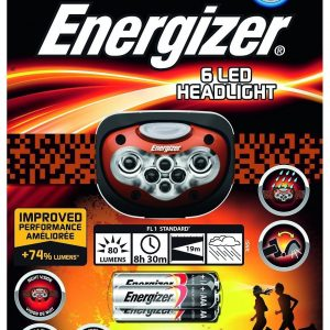 פנס ראש מקצועי Energizer 6 LED