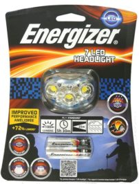 פנס ראש לריצת לילה Energizer 7 LED
