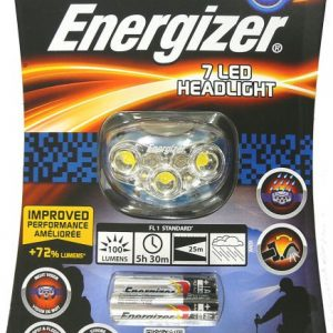 פנס ראש לריצת לילה Energizer 7 LED