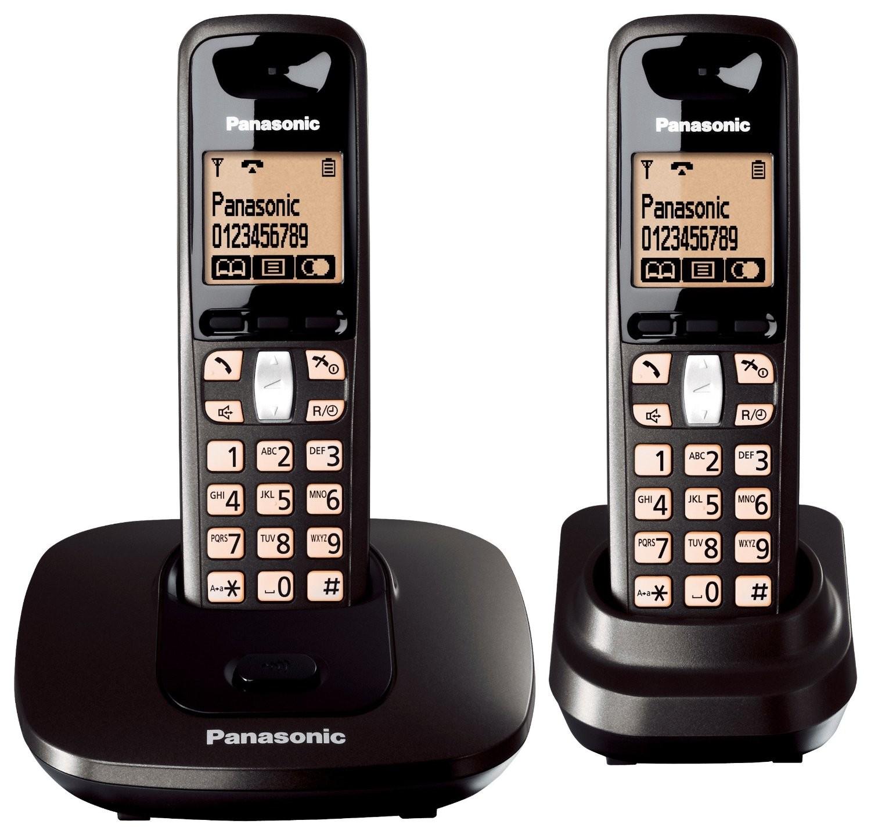 למעלה טלפון אלחוטי פנסוניק Panasonic KX-TG2712 | טלפונים אלחוטיים | שופ IV-91