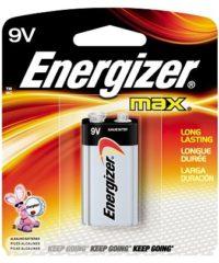 בטריה Energizer 9V