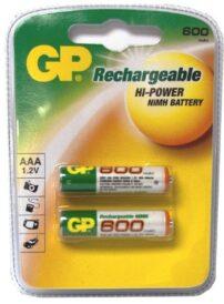 סוללה נטענת GP AAA 650mAh