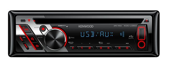 רדיו דיסק קנווד KENWOOD KDC-U353A