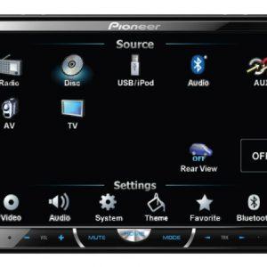 רדיו דיסק DVD פיוניר PIONEER AVH-P4450BT