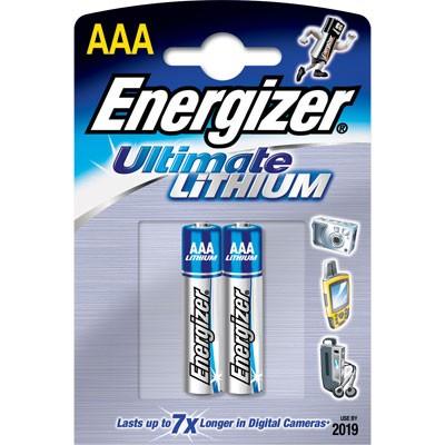 סוללות ליתיום Energizer LITHIUM AAA