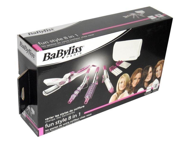 מחליק שיער ומעצב ומסלסל שיער BaByliss 2020