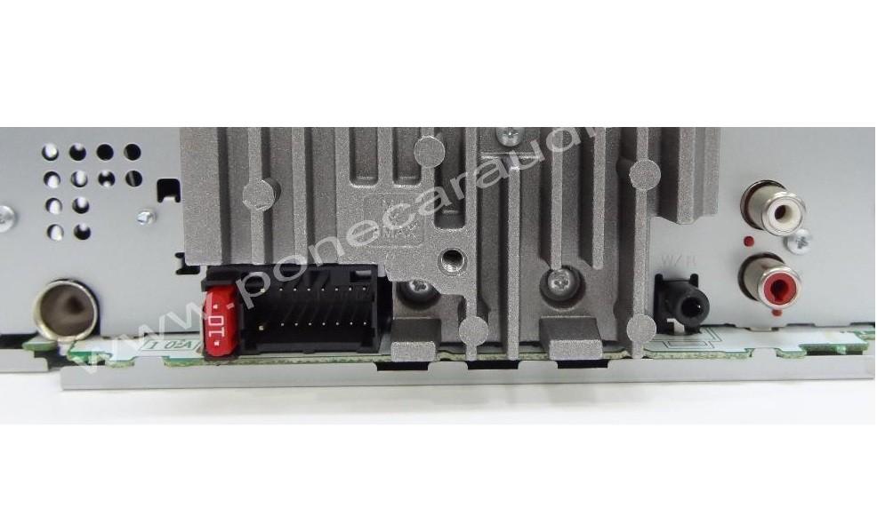 רדיו דיסק רכב פיוניר החדשה PIONEER DEH-X1650UB