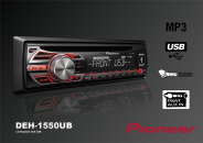 רדיו דיסק פיוניר PIONEER DEH1550UB