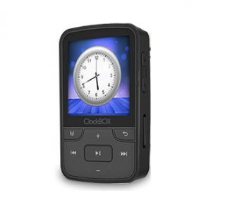 נגן mp3 לריצה אלחוטי SAMVIX CLOCKBOX עם בולוטוס