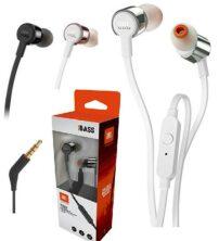 אוזניות עם מיקרופון חוטיות JBL T210